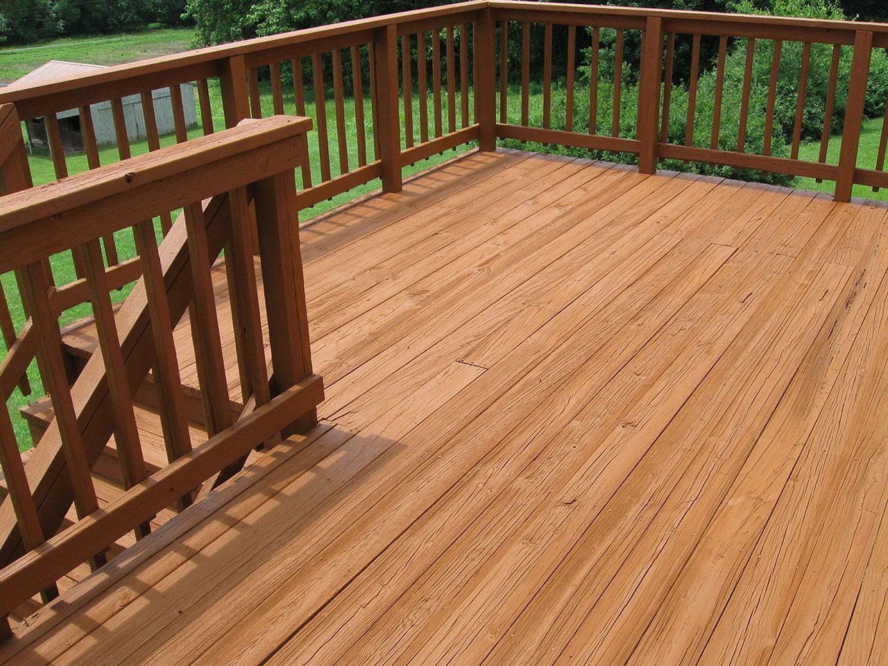 Chestnut Behr Solid Color Click To Close Deck Stain
