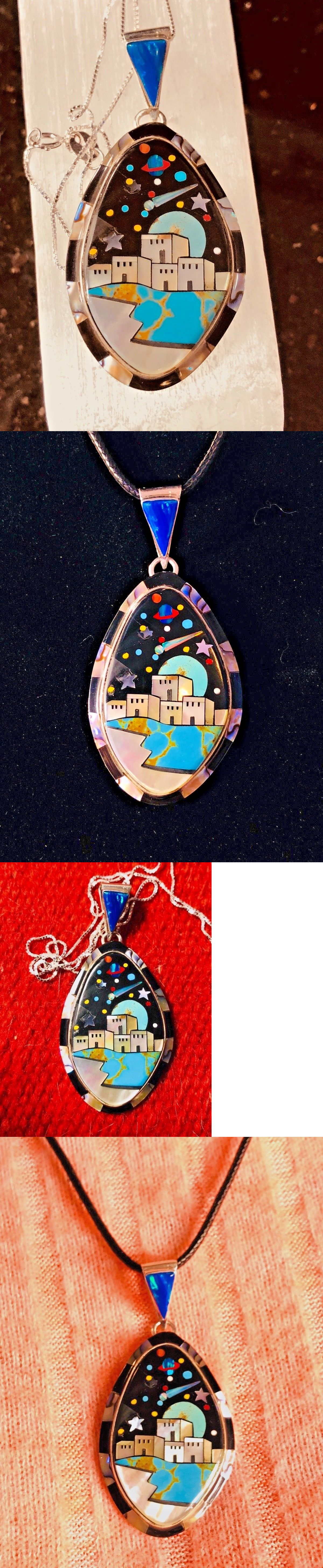 s img pendant broach choctaw or jim zuni