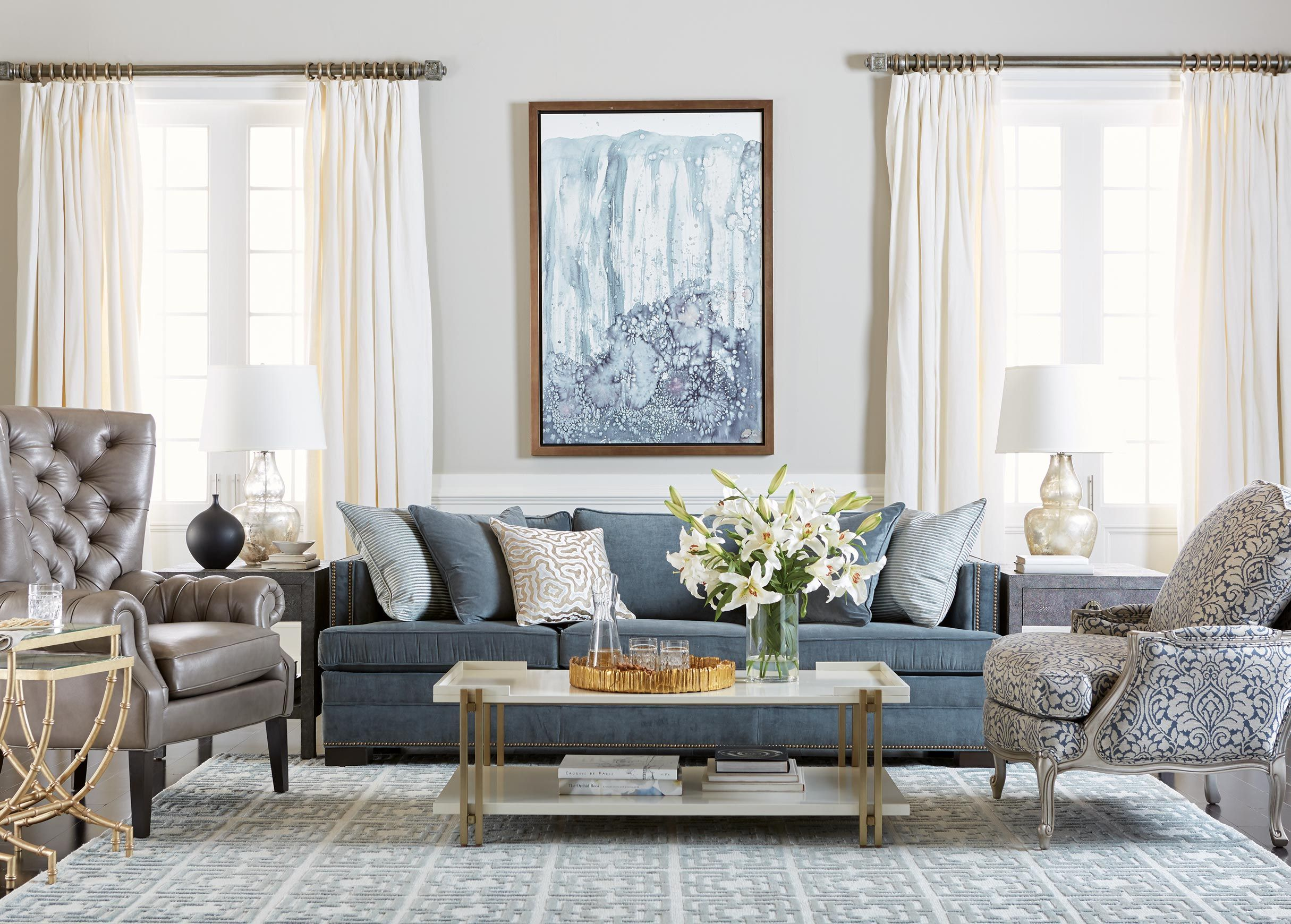 Elegant Eclectic Living Room Elegant Living Room Ethan Allen Living Room Living Room Sets Furniture
