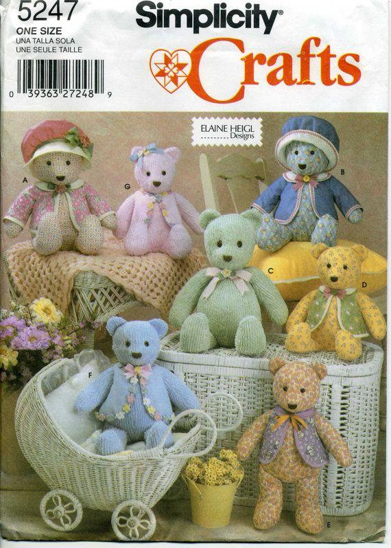 57568ea6810 Plush Bear Pattern
