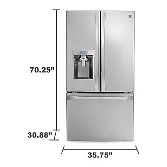 Good The Kenmore Elite Cu. French Door Fridge Has More Chill Room Stock Up On  Groceries, Treats And Party Platters With The