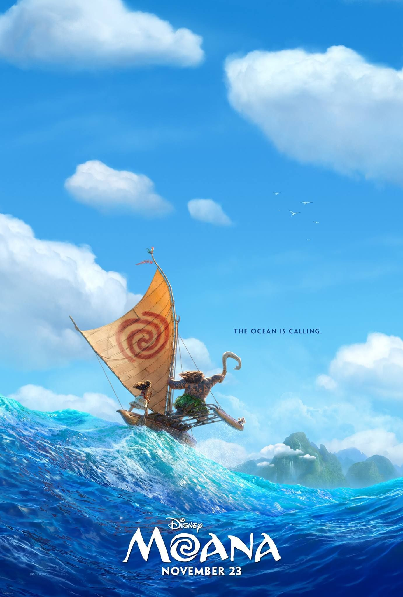 Teaser Trailer For Disney's 'Moana' Released Online! | Disney ...