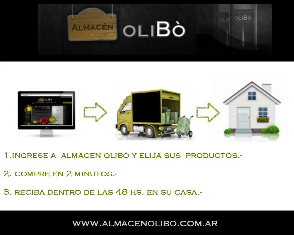 Almacén Olibò - venta directa de aceite de oliva virgen calidad extra. Aceite de Mendoza, Premium. Blend, Varietales y Orgánico.  Entrega domiciliaria en 48 horas.