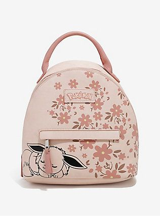 75e67c0d5d30 Loungefly Pokémon Eevee Pastel Mini Backpack, | Geeky Gift Guide in ...