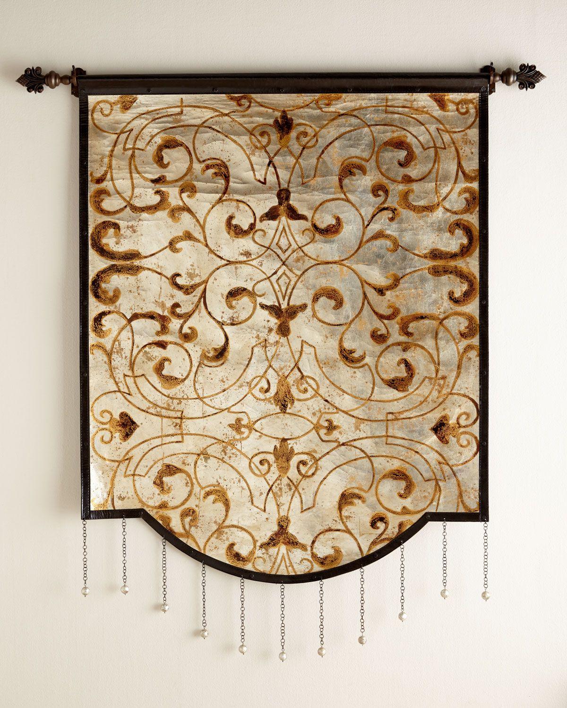 Analiese tapestry multi colors neiman marcus artwork