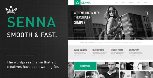 Senna. Responsive Wordpress Theme | Themes & PlugIns | Pinterest ...