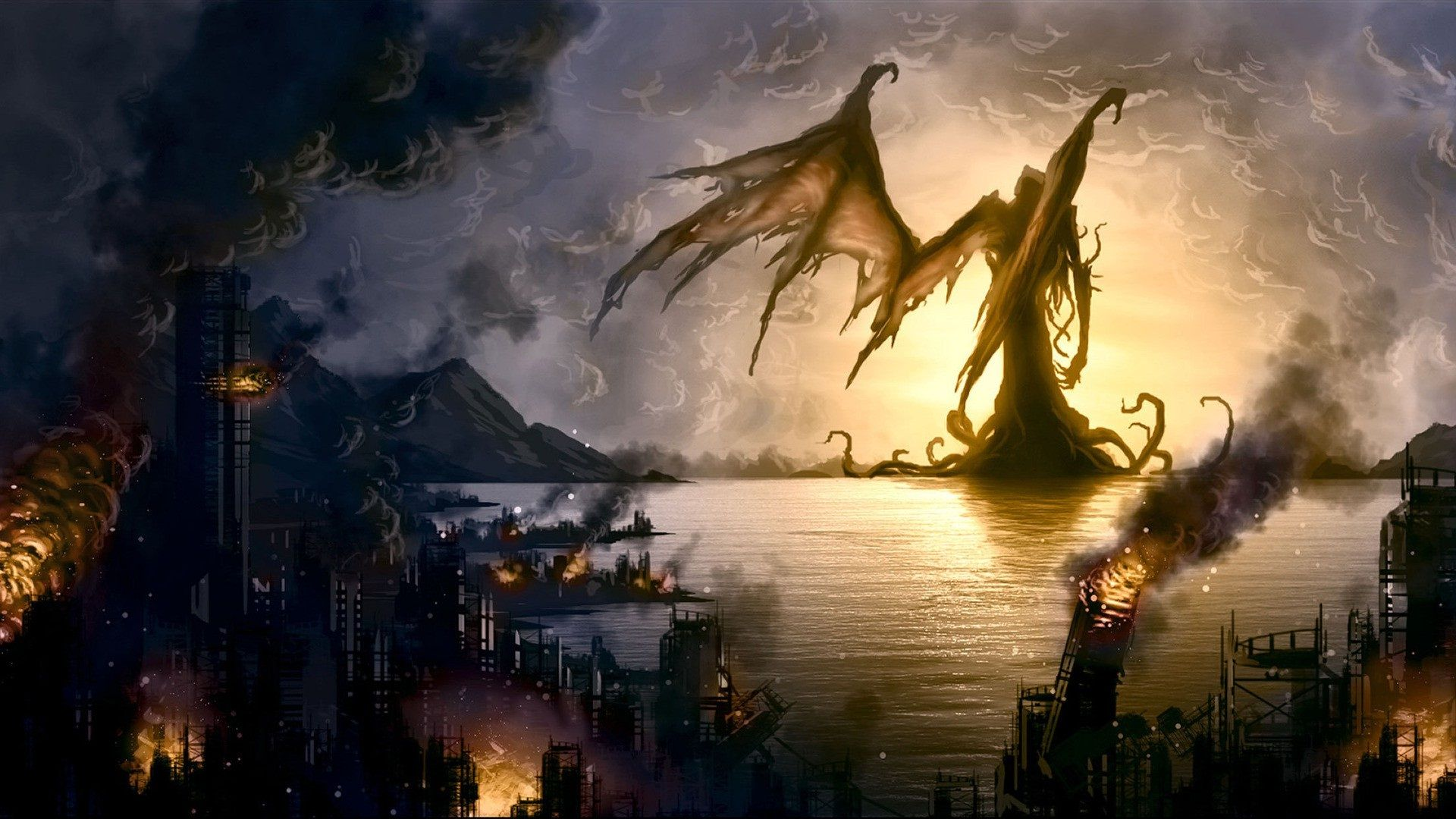 Giant Monster Wallpaper Creature Picture Giant Monsters Monster Pictures