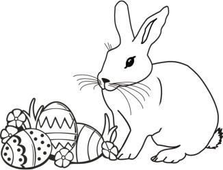 malvorlagen ostern ausmalbild osterhase easter coloring diy pinterest malvorlagen. Black Bedroom Furniture Sets. Home Design Ideas