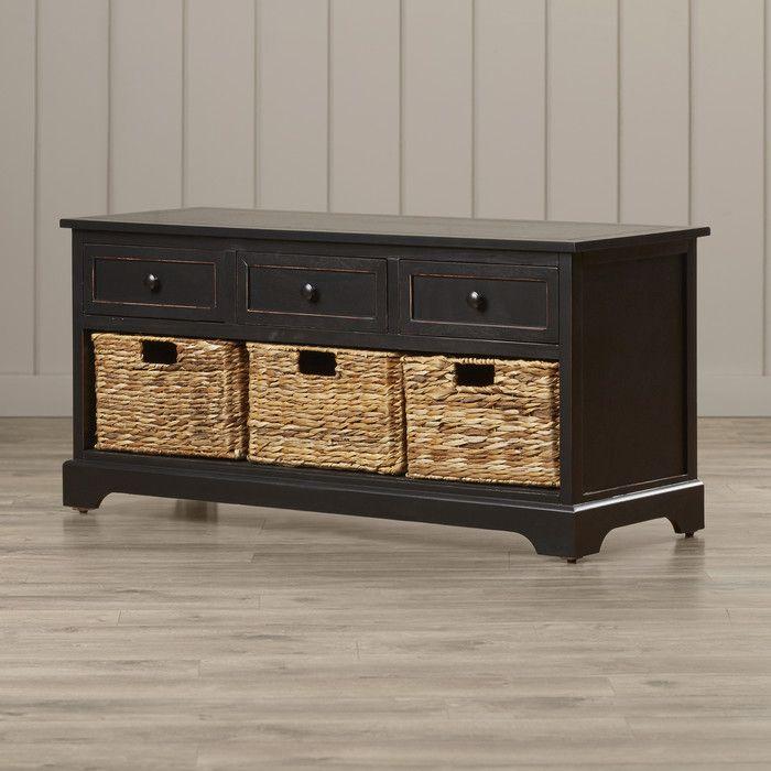 Beachcrest Home McKinley Storage Bench Reviews