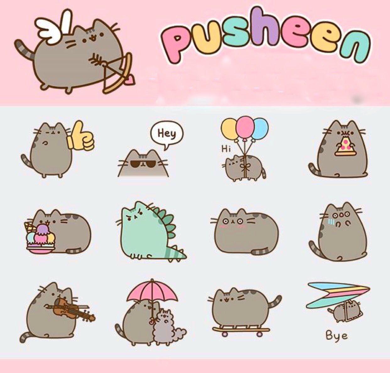Pin By Niyanne Hinds On Pusheen Pusheen Cute Pusheen Cat Pusheen