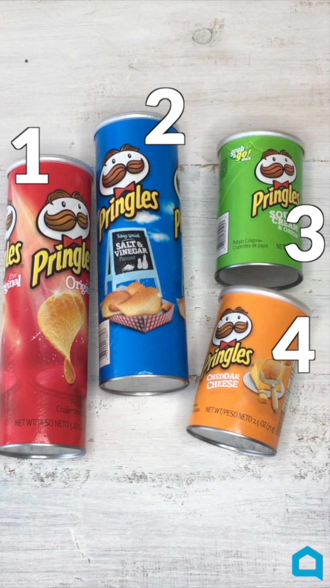4 Ways To Upcycle Your Pringles Can!