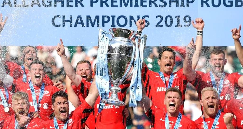 Saracens will be relegated to English rugbys second