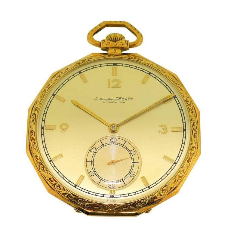 ede1a361e Iwc - I.w.c International Watch Company Pocket Watch 1930S Art Deco ...
