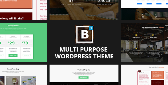 BIG Border - Responsive Multi-Purpose WordPress Theme Download ...
