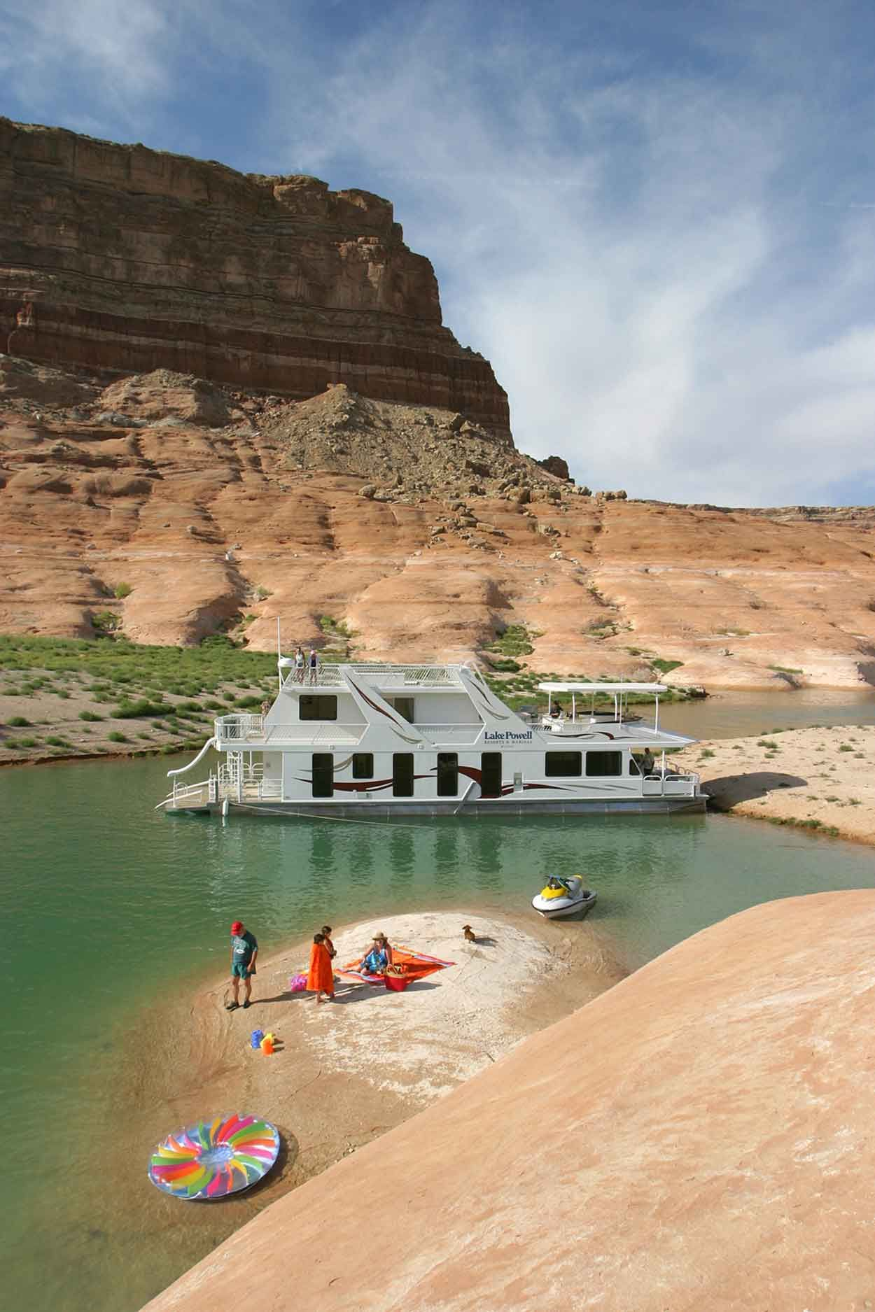 Lake Powell Resorts And Marinas 75 Luxury Houseboat