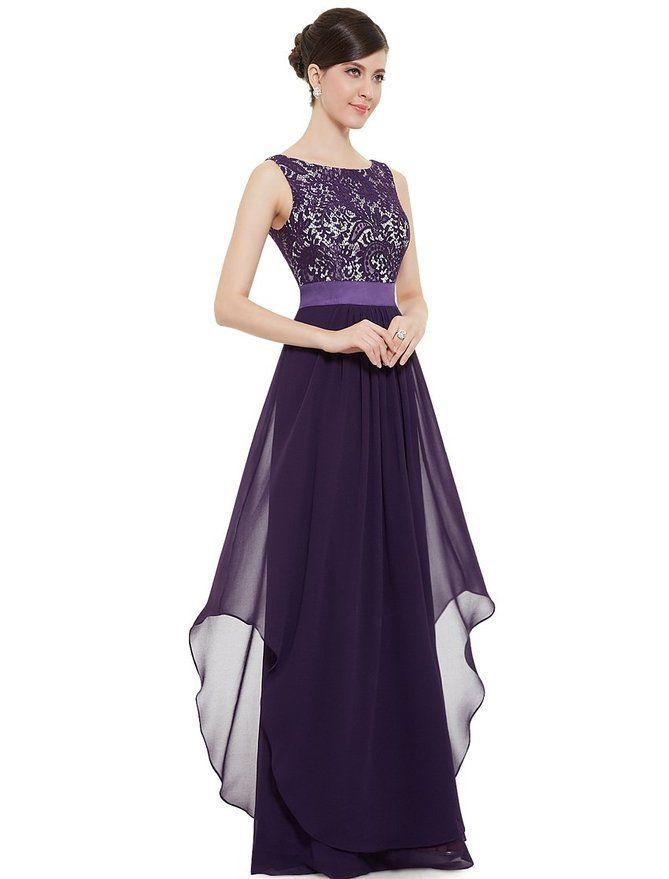 59371ff0532 Amazon.com  Ever Pretty Elegant Sleeveless Round Neck Evening Party Dress  08217  Clothing