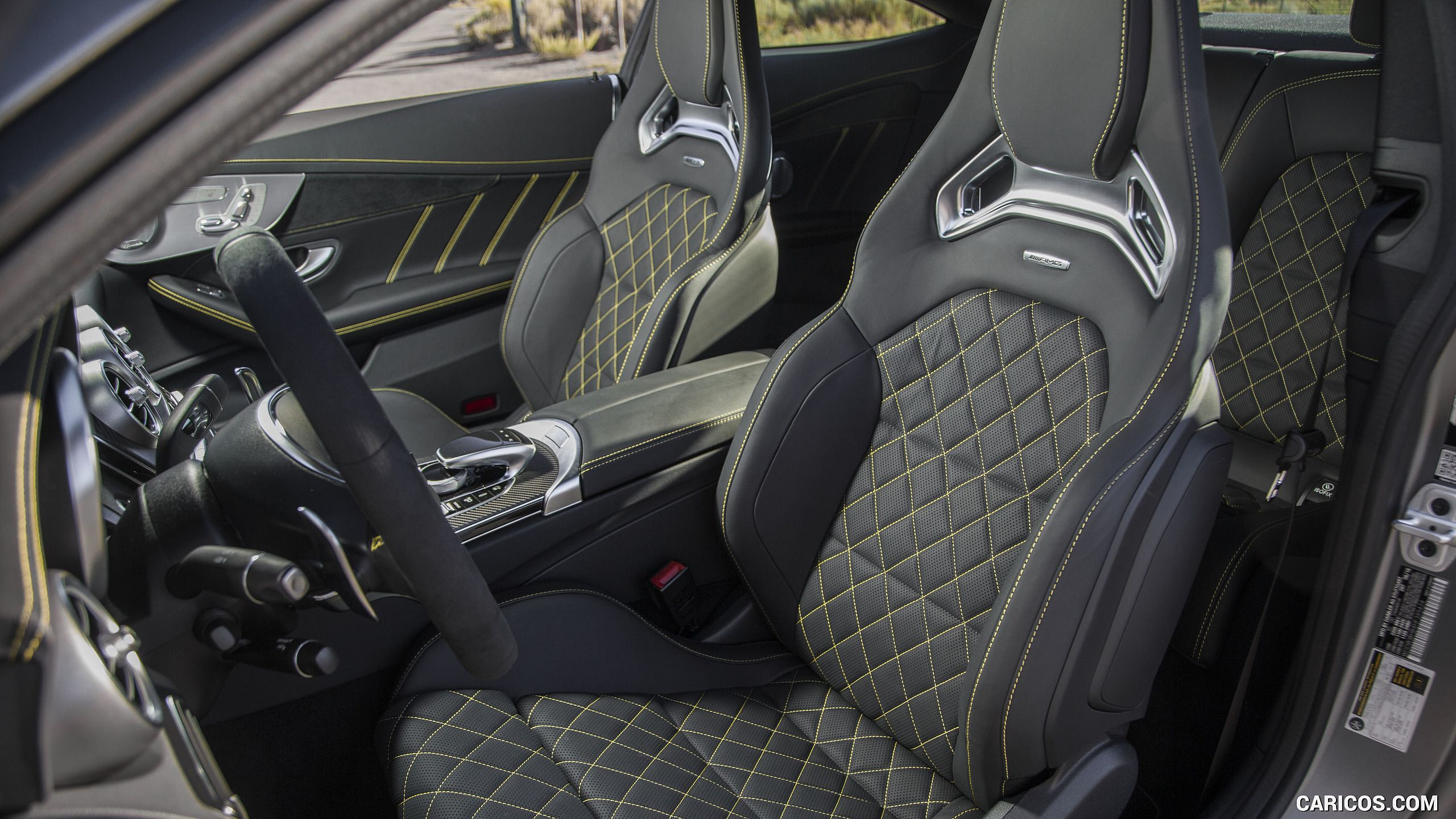 2017 Mercedes Amg C63 S Coupe Edition One Us Spec Interior