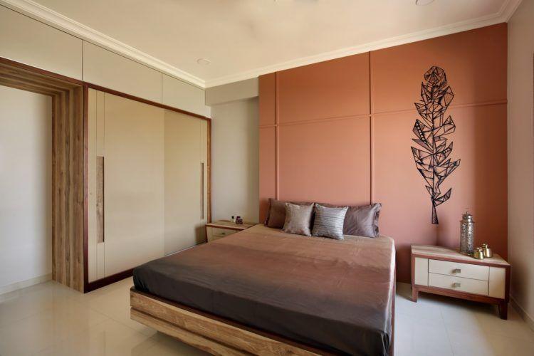 2 Bhk Interior Design Interior Design Apartment Bedroom