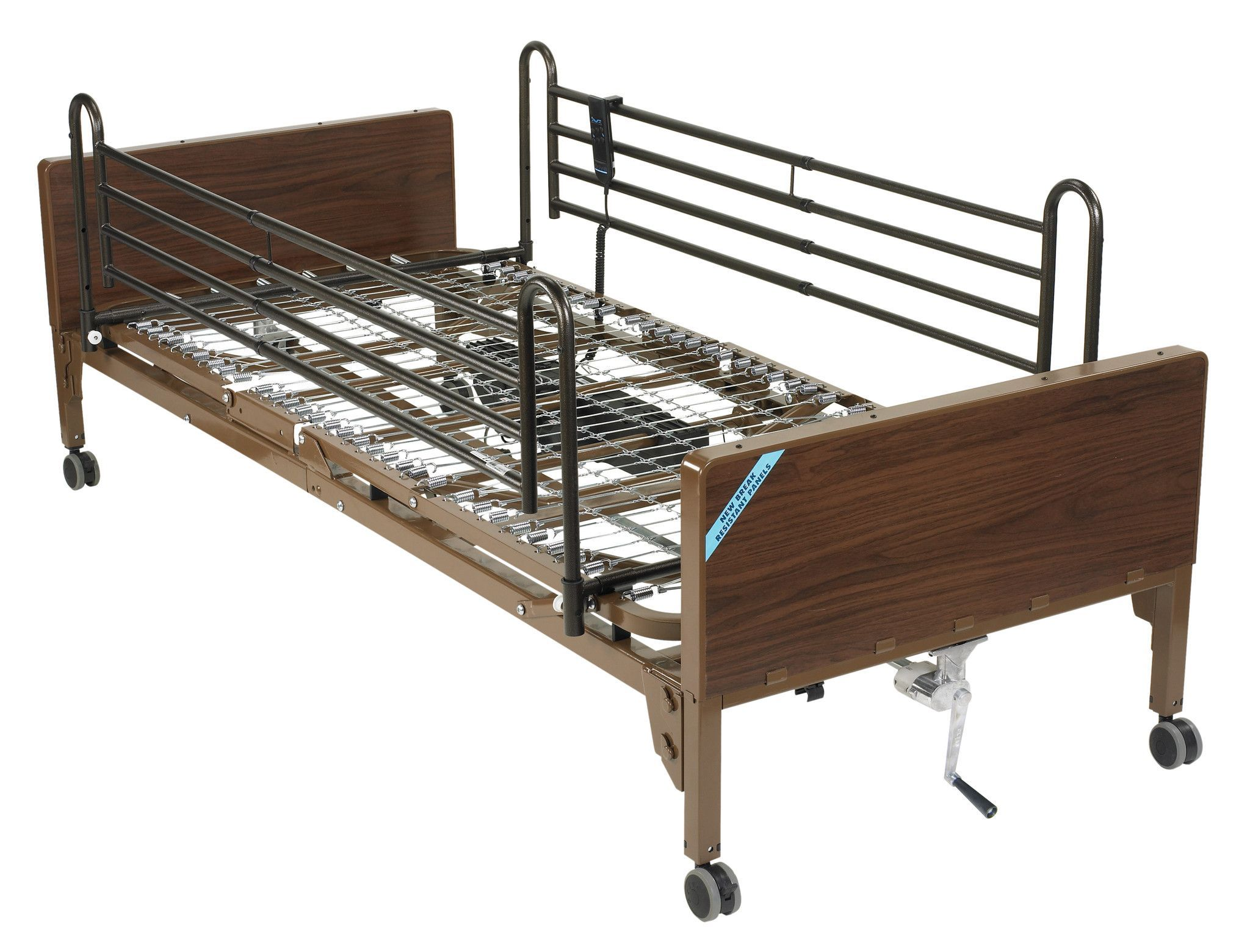 Delta Ultra Light Full Electric Low Bed with Full Rails