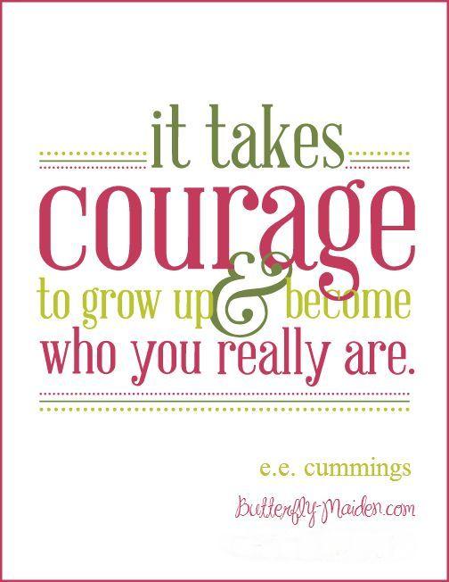 Courage Quotes Spiritual Courage Quotesquotesgram  Team Insane Courage