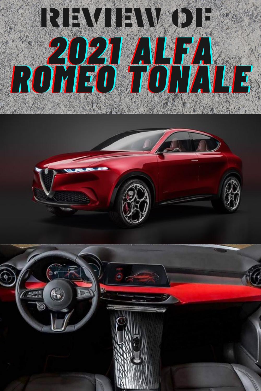 2021 Alfa Romeo Tonale Interior Specs Price Alfa Romeo Romeo Sports Car