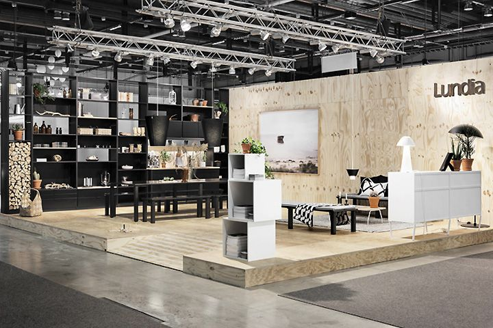Exhibition Stand Kitchen : Lundia kitchen and trade show concept by joanna laajisto