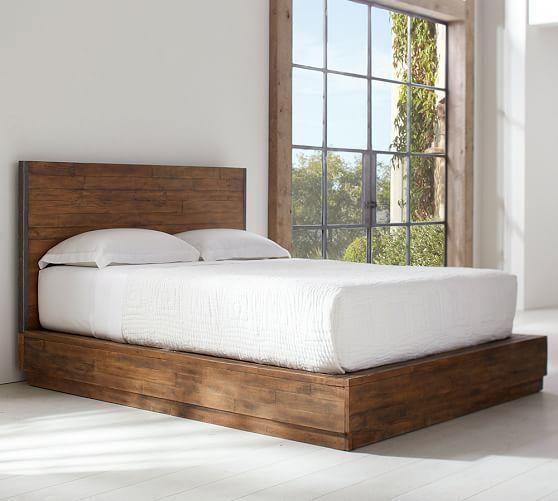 Big Daddy S Antiques Reclaimed Wood Platform Bed Home Decor Bedroom Luxurious Bedrooms Bedroom Design