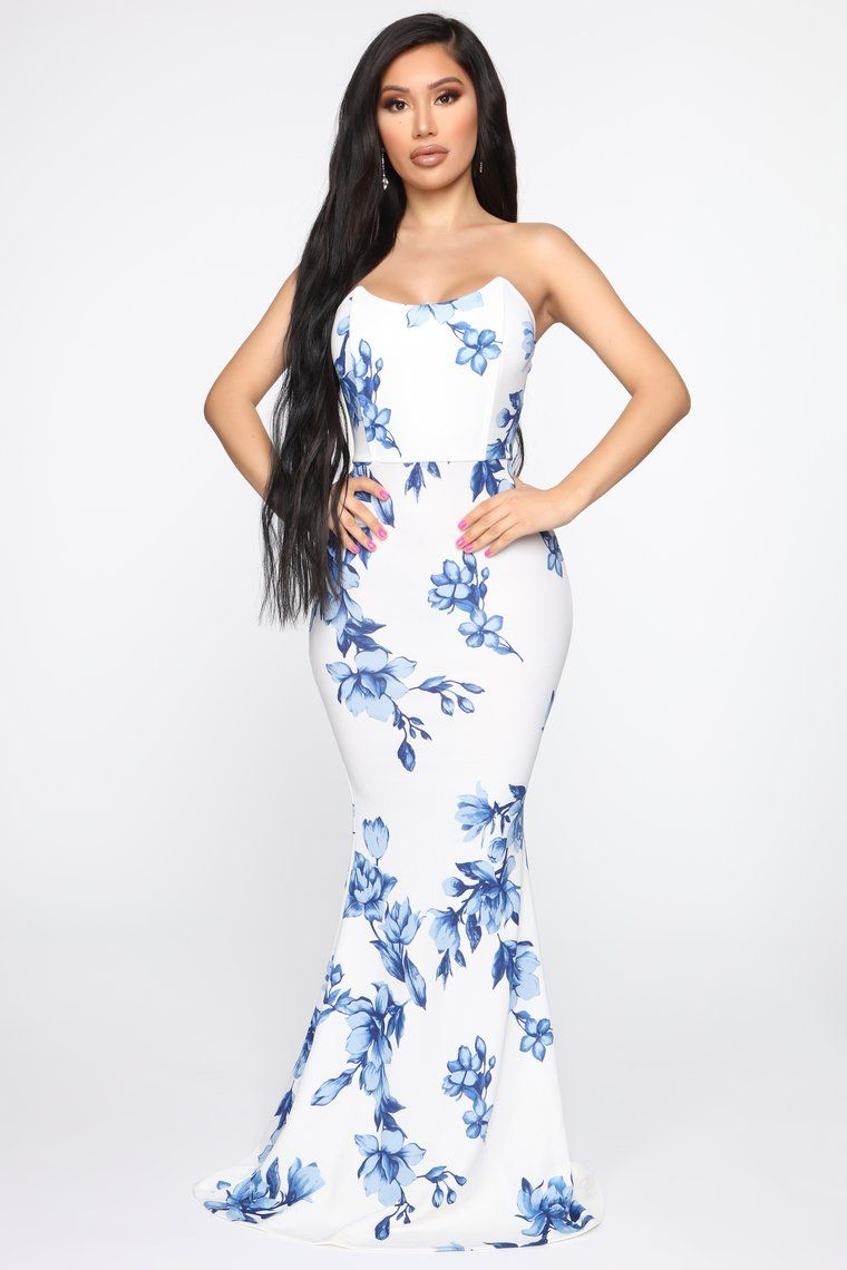 Day of delight floral maxi dress with