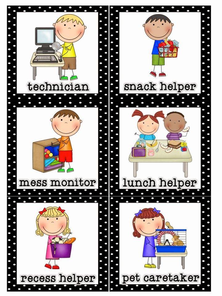 Mrs Lirette S Learning Detectives Classroom Helpers Set Free Classroom Helpers Preschool Classroom Jobs Classroom Jobs