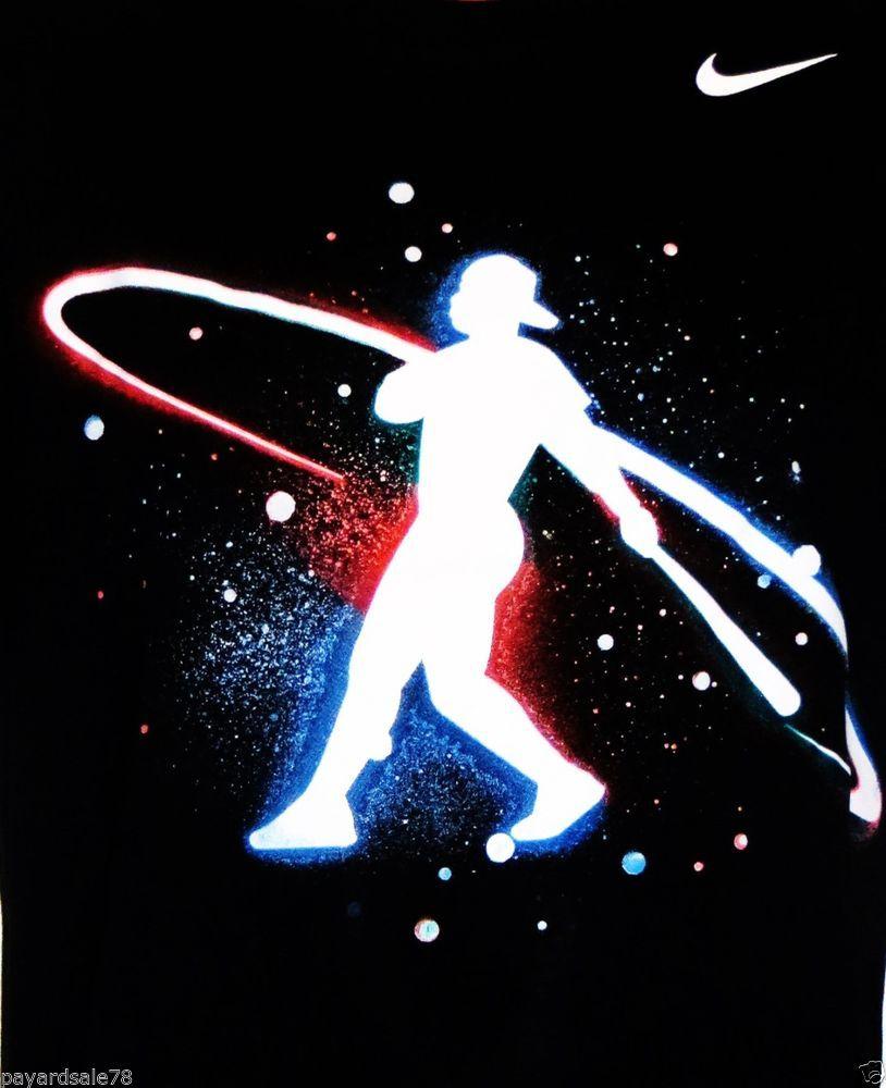 mens xl nike ken griffey jr swingman baseball galaxy tee