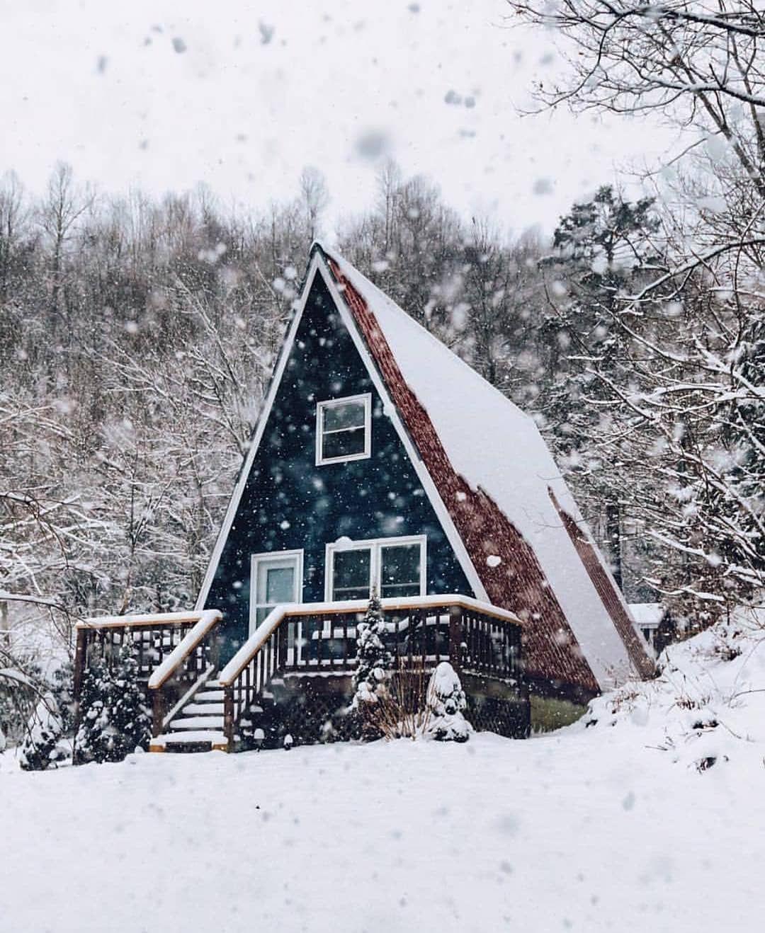 amazing cabin in snow north carolina by hungqta follow us rh pinterest com