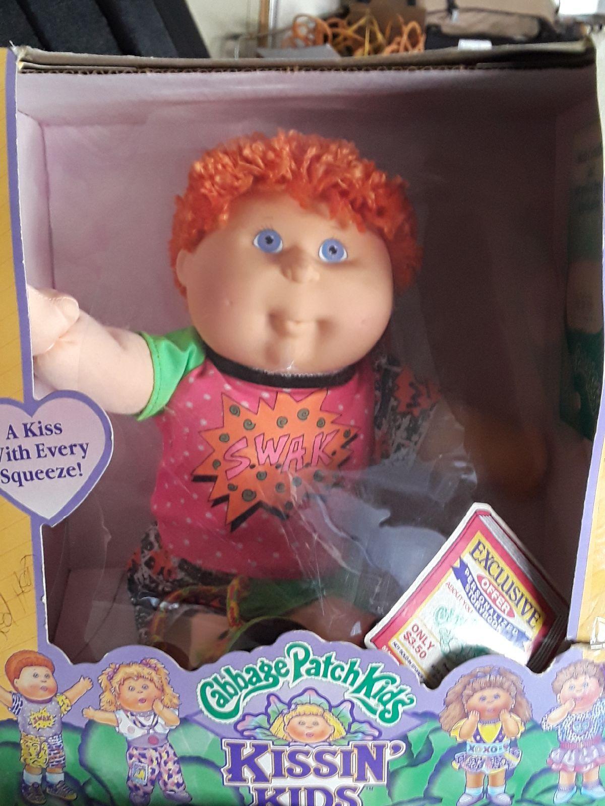 Hasbro Cabbage Patch Kids Vintage Doll Kissing Kids Kissin Kids Boy Red Hair Fully Dressed Cabbage Patch Kids Cabbage Patch Dolls Cabbage Patch Kids Dolls