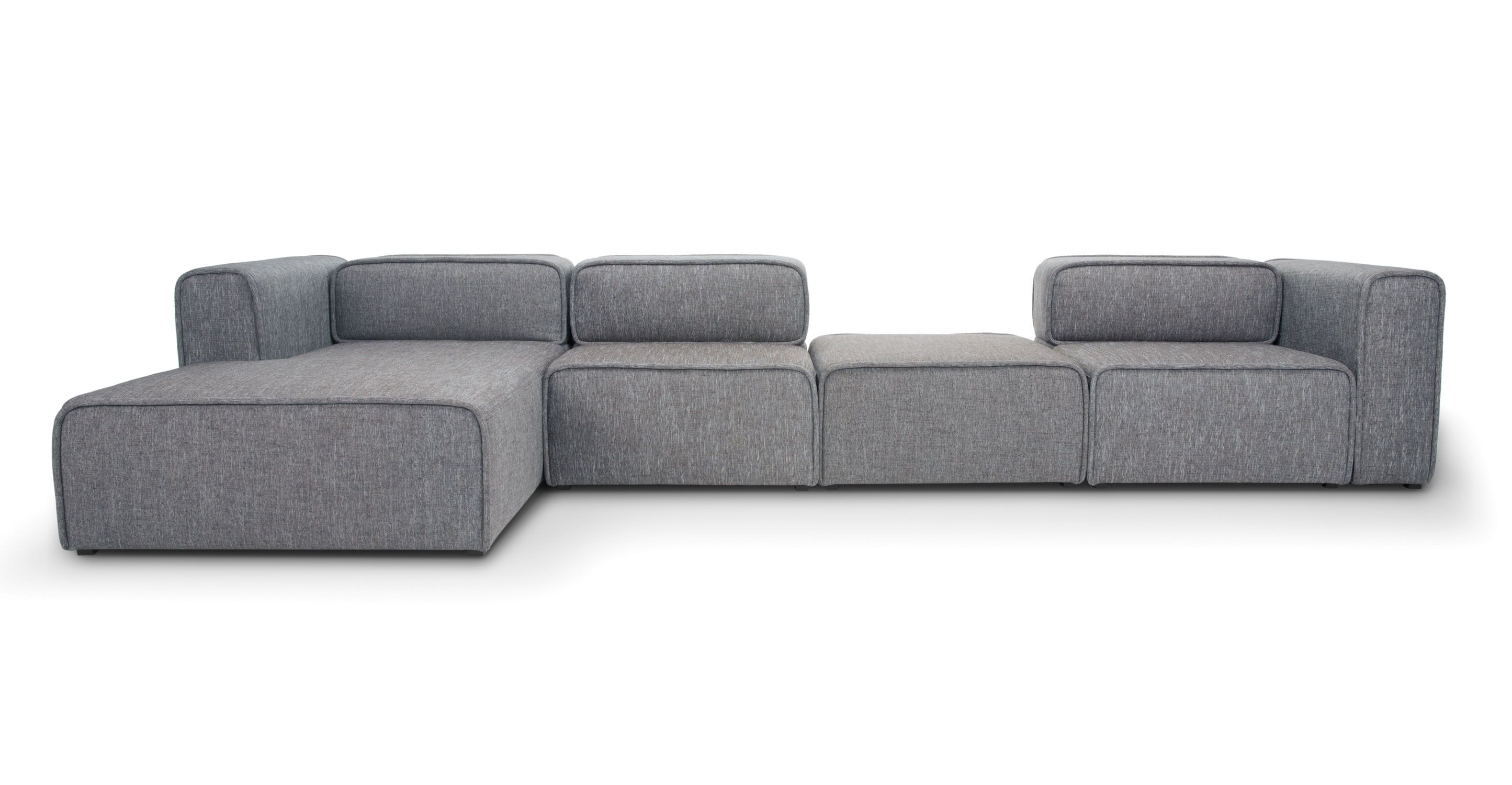 Acura 3 Seat Left Sectional With Chaise