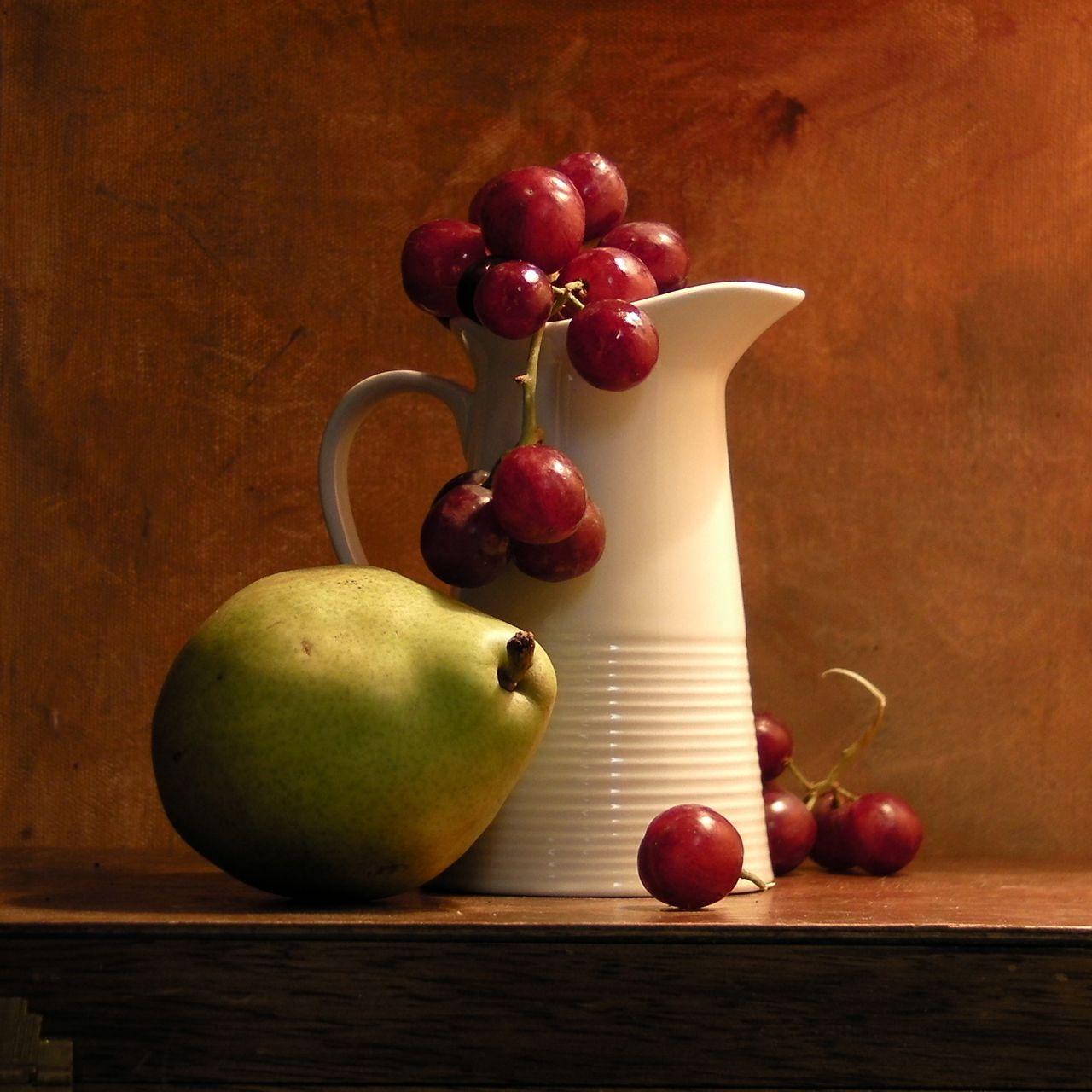 Painting The White Jug Still Life Fruit Still Life Art Still Life Photography