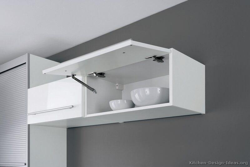 Modern White Kitchen Cabinets #06 (Alno.com, Kitchen-Design-Ideas ...