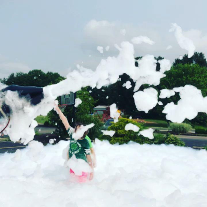 Church fun with foam