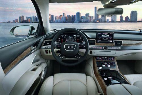 nice car, nice view