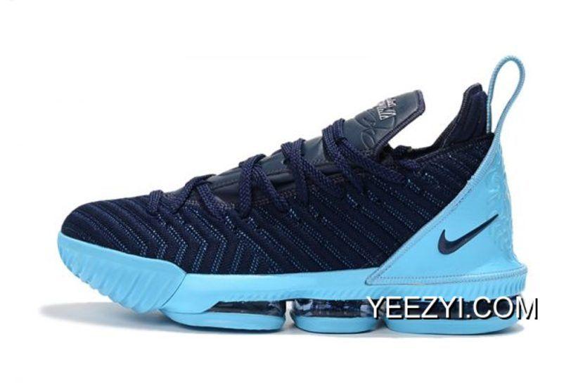 "new concept f4bc1 f2fb8 2018 Nike LeBron James 16 ""Black Jade"" Black Blue Online | Nike ..."
