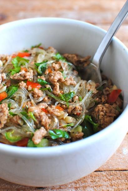 Thai Pork Salad with Cellophane Noodles