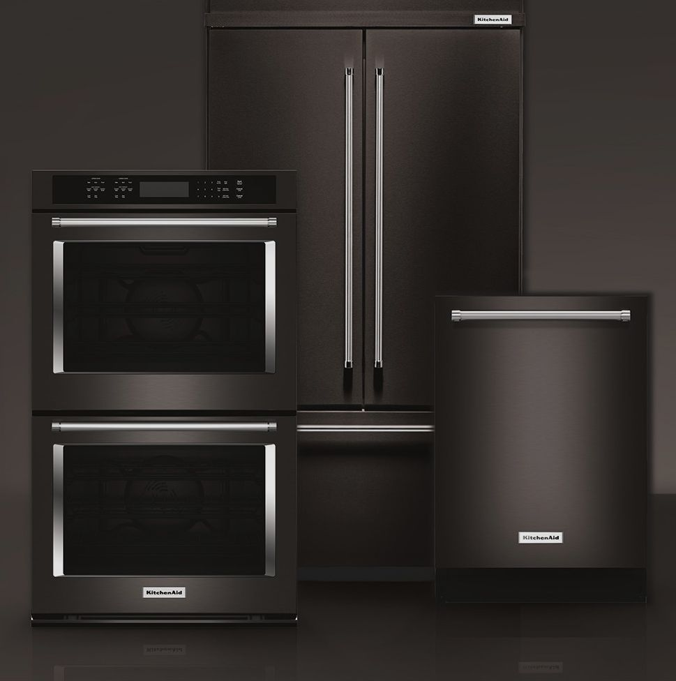 Kitchenaidus black stainless steel summer kitchen ideas