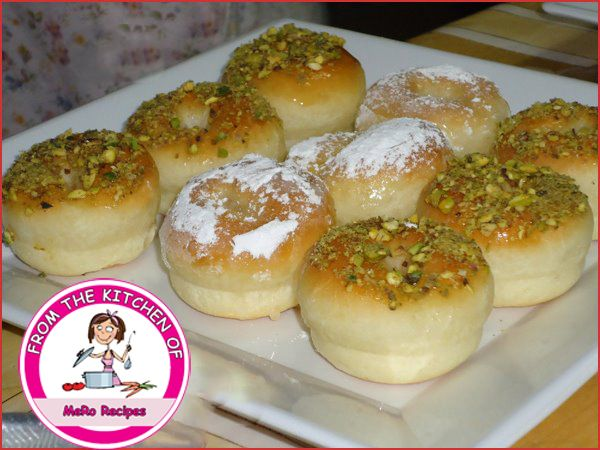 وصـفـات مـيـرو دونات بالفرن Food Arabic Sweets Breakfast