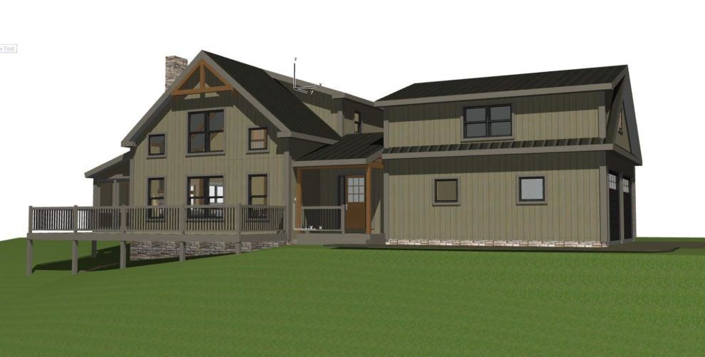 Small Barn House Huntington Lodge | Barn, Barn house design and House