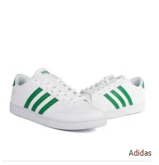 Adidas Courtest Leather Shoes White Green Leather Shoes Sneakers Adidas