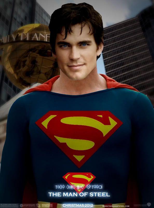 Matt Bomer Superman Ma...