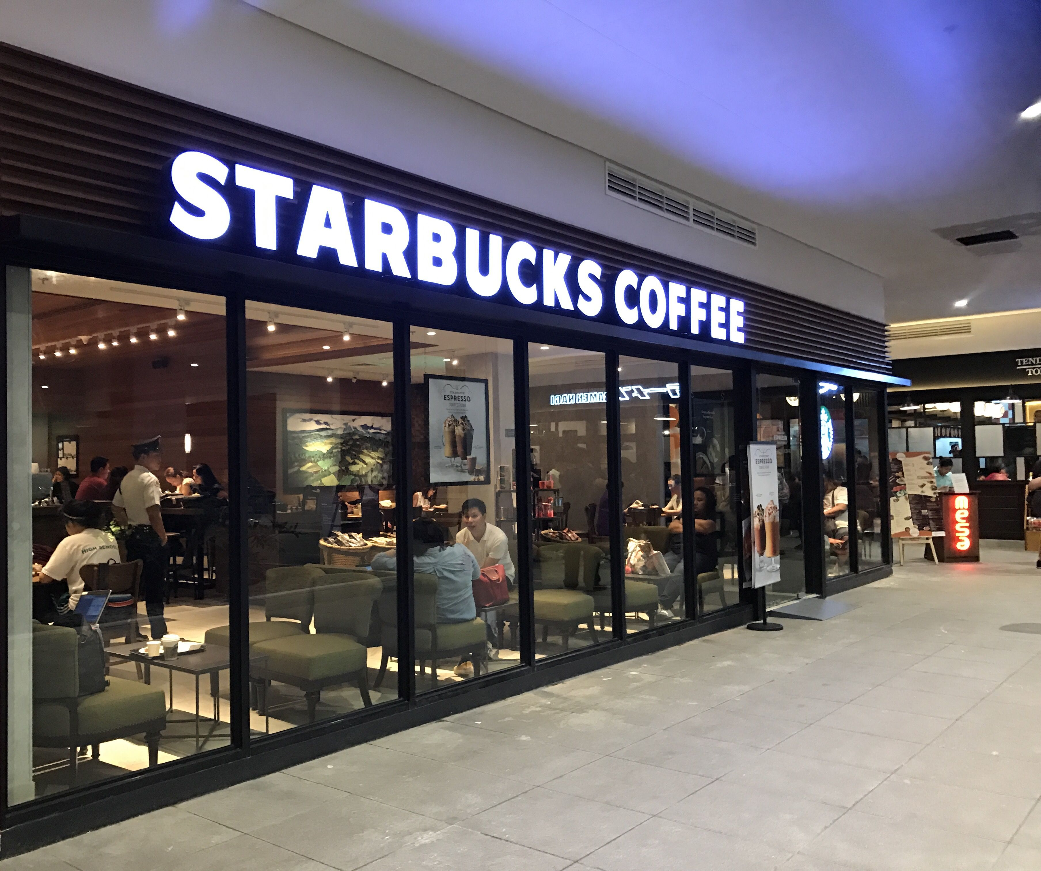starbucks coffee on baristas makati and philippines