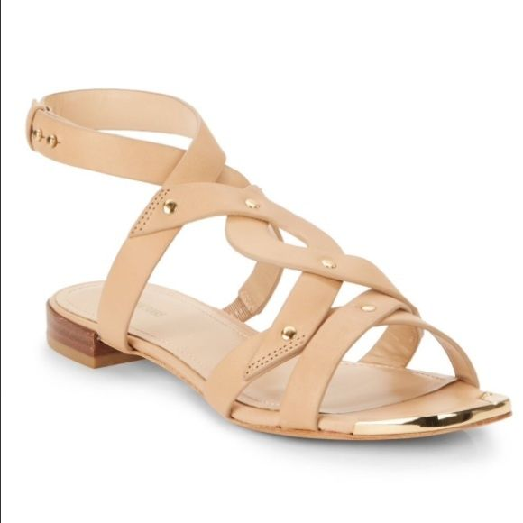 Tan Nude Pour La Victoire Sandals size 7 Brand New never worn Pour La Victoire sandals Aztec style nude tan in color true to size adjustable ankle strap Pour la Victoire Shoes Sandals