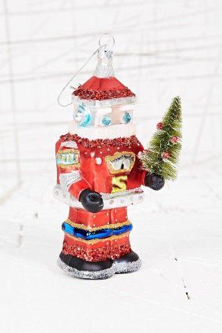 Robot Santa Christmas Decoration