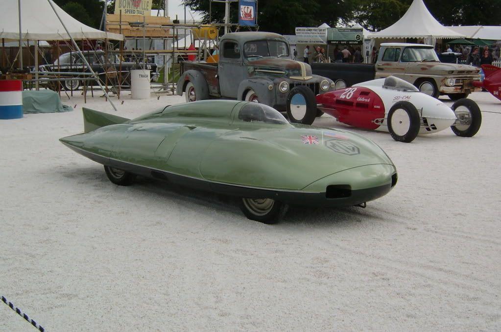 Mg Speed Record Car