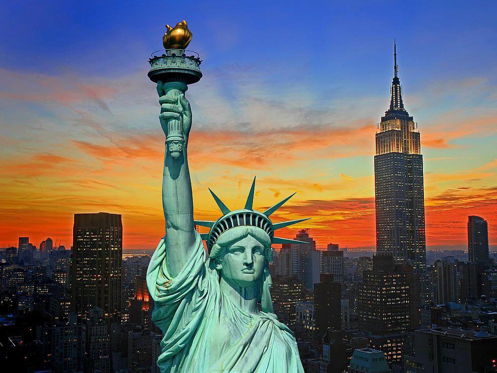 Great Miss Liberty New York   Cerca Con Google Design
