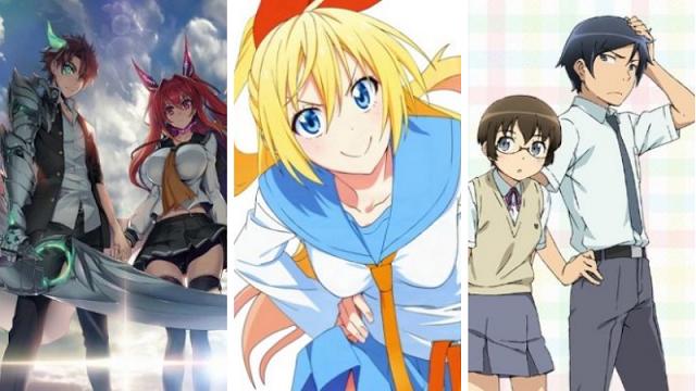 8 Rekomendasi Anime Harem Terbaik Bikin Kamu Salah Tingkah Nisomnia Animasi Gambar Gambar Anime